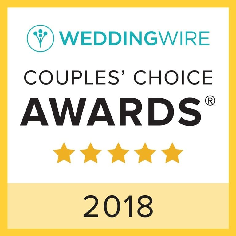 wedding wire Award 2018