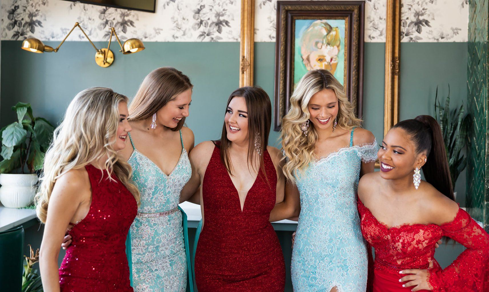 Pageant and prom dresses at Glitz Nashville