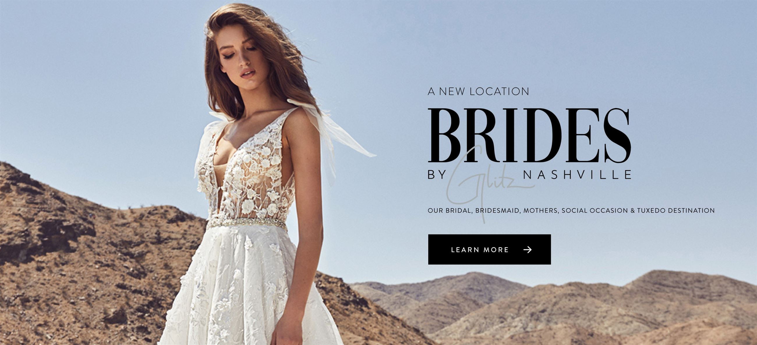 Glitz Nashville Calla Blanche wedding dress in Nashville, TN